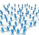 Социальная сеть, с принципом млм