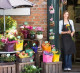 Магазин цветов в центре города