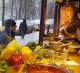 Точка шаурмы и выпечки возле м. Серпуховская.