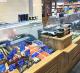 Рыбный отдел в популярном продуктовом магазине
