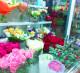 Цветочный магазин на выходе из метро