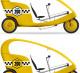 Продается комплект веломобилей для организации бизнеса «Велотакси»