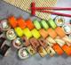 Магазин-кафе суши (известный бренд)