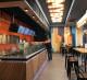 Кафе суши-вок на фуд-корте.